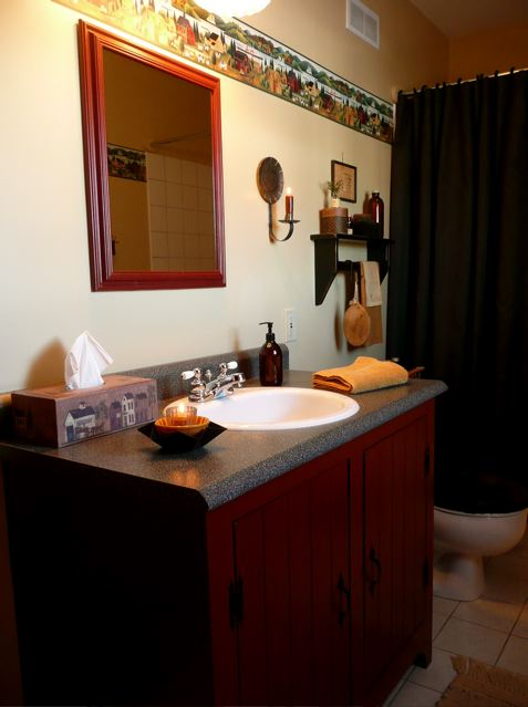 A Primitive Place Primitive Amp Colonial Inspired Bathrooms
